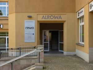 Eingang Radiologie Benedikt in Lichtenstein